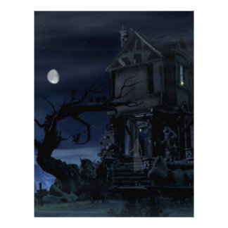 house of scary dreams letterhead template