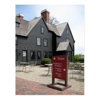 House of Seven Gables Postcard