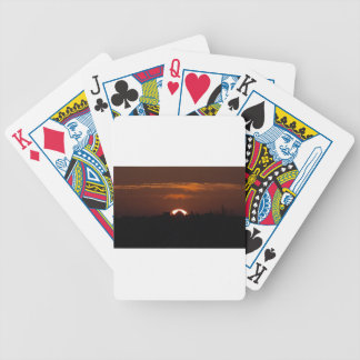 House Of The Falling Sun Bicycle Playing Cards