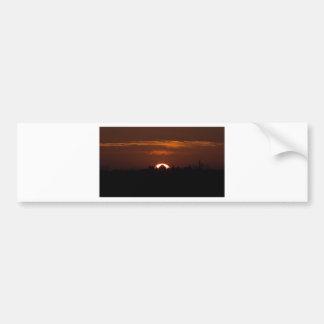 House Of The Falling Sun Bumper Sticker
