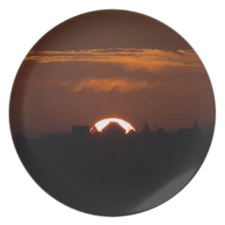 House Of The Falling Sun Plate