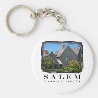 House of the Seven Gable Basic Round Button Keychain