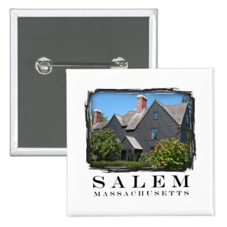 House of the Seven Gable Pinback Buttons