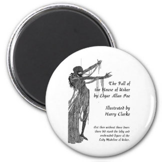House of Usher 2 Inch Round Magnet