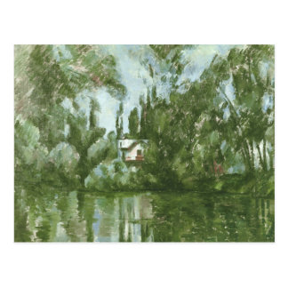 House on the Banks of the Marne, 1889-90 Postcard