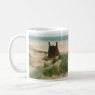 House on the Beach Classic White Coffee Mug