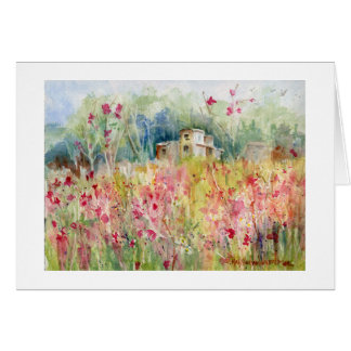 House on the Hill notecard