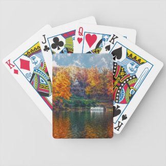 House on the Lake Bicycle Playing Cards