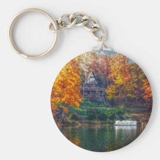 House on the Lake Keychain
