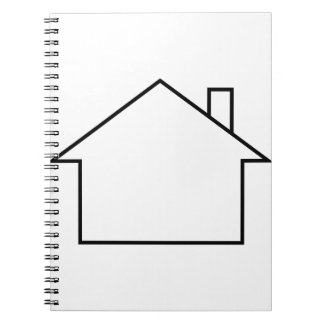 House Outline Notebook