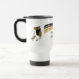House Painter Brush Strokes Travel Mug