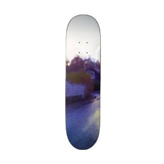 House photo drawing custom skateboard