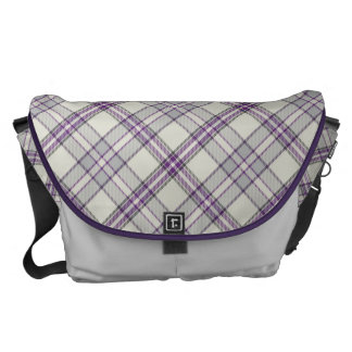 House Plaid Tartan - Light Messenger Bag