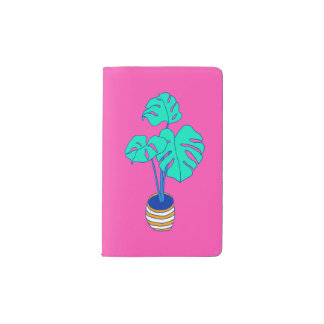 House Plant 01 Pocket Moleskine Notebook