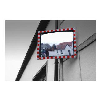 House reflections photo print