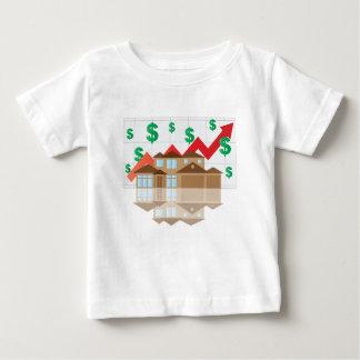 House Rising Value Graph Illustration Baby T-Shirt