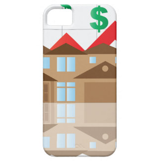 House Rising Value Graph Illustration iPhone 5 Cases