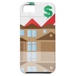 House Rising Value Graph Illustration iPhone 5 Cover