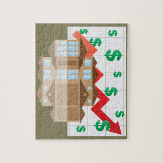 House Rising Value Graph Illustration Jigsaw Puzzle