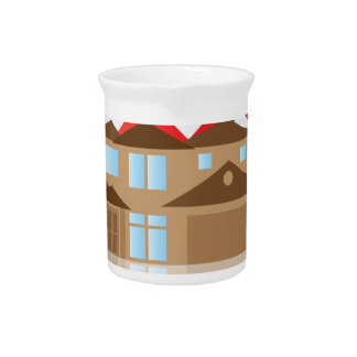 House Rising Value Graph Illustration Pitcher