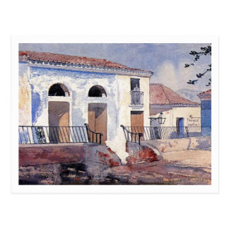 House, Santiago, Cuba by Winslow Homer Postcard