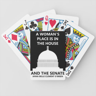 HOUSE SENATE BICYCLE PLAYING CARDS