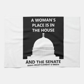 HOUSE SENATE HAND TOWEL