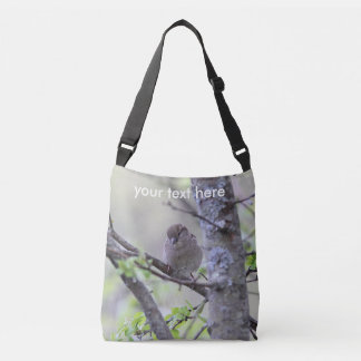 House sparrow crossbody bag