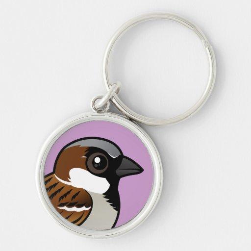 House Sparrow Key Chains