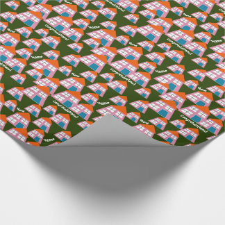 HOUSE WARMING GIFT WRAP.  HOME GIFT WRAP PAPER