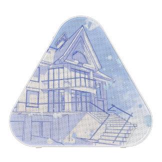 house: watercolor draw speaker