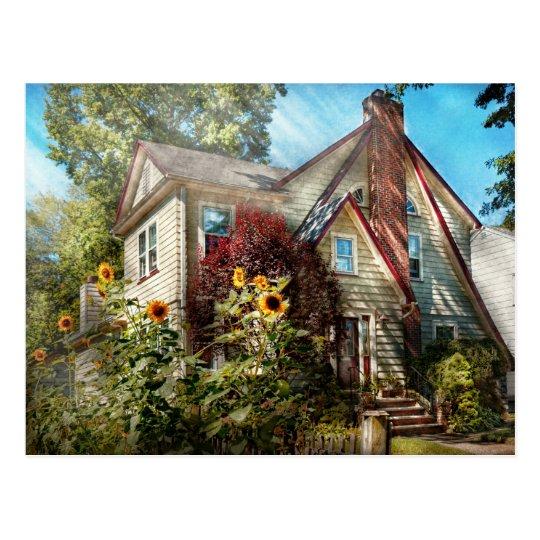 House - Westfield, NJ - The summer retreat Postcard