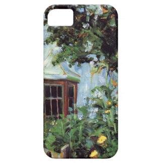 House with a Bay Window in the Garden iPhone 5 Cover