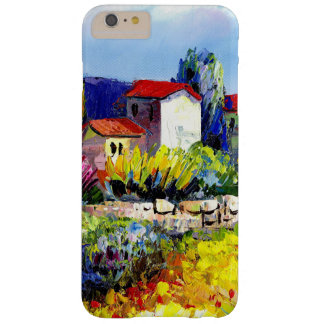house with garden colorful oil painting travel fun barely there iPhone 6 plus case
