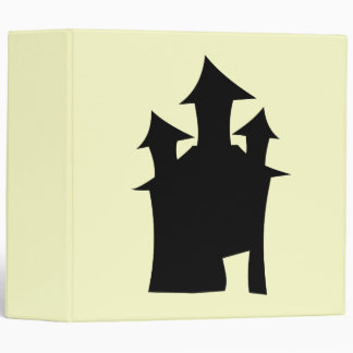 House with Three Towers. 3 Ring Binders