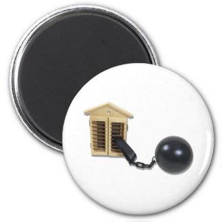 HouseBallChain082510 2 Inch Round Magnet