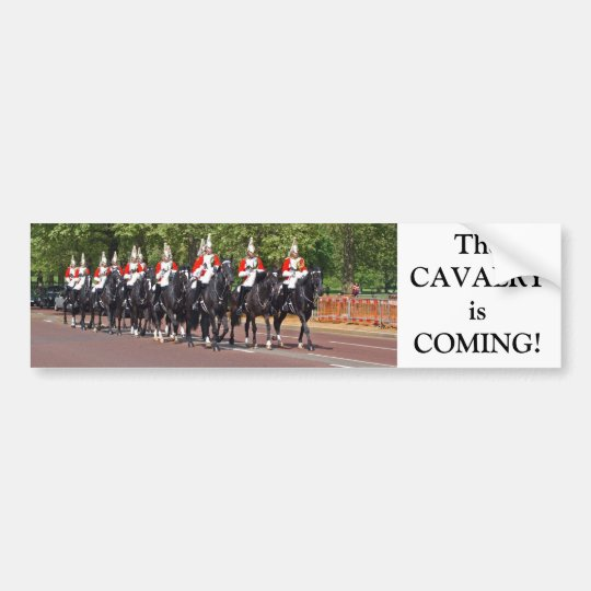 Household Cavalry Bumper Sticker