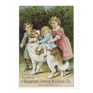 Household Sewing Machine Co Postcard