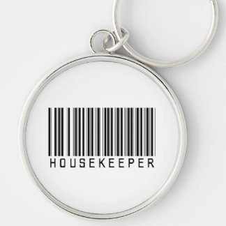 Housekeeper Bar Code Keychain