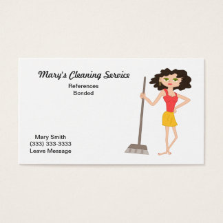 Housekeeper Business Card