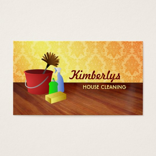 Housekeeping Business Cards Zazzle Ca