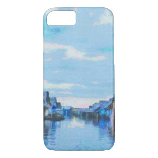 Houses and canal iPhone 8/7 case