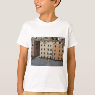 Houses are reflected in the tranquil water T-Shirt