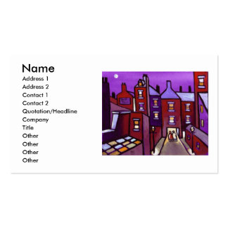 HOUSES GALORE BUSINESS CARD TEMPLATE