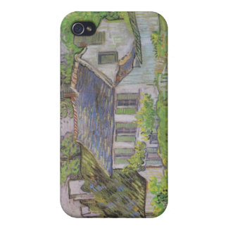 Houses in Auvers - Van Gogh (1890) iPhone 4 Covers