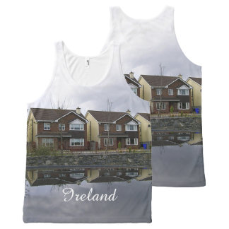 Houses in Ireland All-Over-Print Tank Top