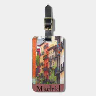 Houses in Madrid Luggage Tag