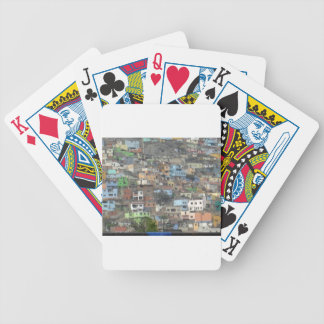 Houses in Peru Poker Deck