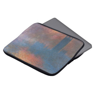 Houses of Parliament, London by Claude Monet Laptop Sleeve