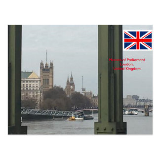 Houses of Parliament, London United Kingdom Postcard
